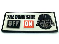 The Dark Side ON Darth Vader Cosplay Airsoft PVC Patch