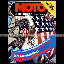 MOTO JOURNAL N°259 SIDE-CAR JEWEL + GL 1000 GOLD WING HONDA CG 125 TL 125 '76