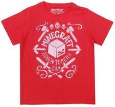 Camiseta de niño de 2 a 16 años manga larga en rojo