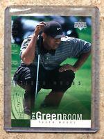 2002 UD Upper Deck Golf The Green Room #GR10 TIGER WOODS