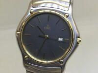 Ebel Sport Wave 183903 Two-Tone 18k Yellow Gold & SS 37mm Swiss Quartz Watch