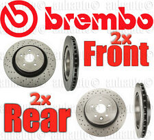 Brembo Brake Rotors (Front & Rear) for Lexus ISF 2008-2014