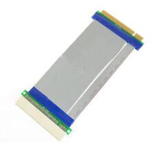Q31 19cm PCI Riser Karte Extender Adapter Flex Verlängerung Kabel Flachbandkabel