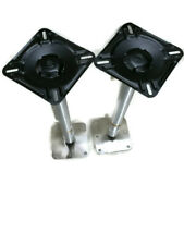 TWO New SPORT MASTER Three Pieces Boat Seat Pedestal 18 inches in Total Height