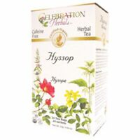 Organic Hyssop Herb Tea 24 Bags  by Celebration Herbals