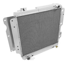 Champion Racing 2 Row Aluminum Radiator For 1987 - 06 Jeep Wrangler 4/6Cyl