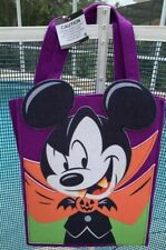 Disney Halloween Trick or Treat Mickey Mouse Vampire cloth large bag
