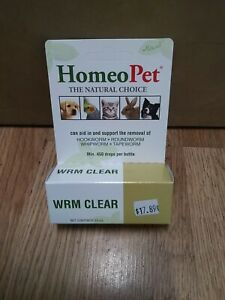 HomeoPet all pet dewormet natural Liquid Drops