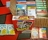Lot Of 1700 Unopened Baseball Cards W/ 500 Sleeves! Topps Donruss Fleer UD Score