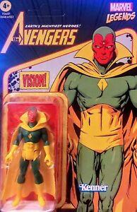 """Marvel Legends THE VISION Avengers 3.75"""". UNPUNCHED 2021 Retro Kenner Mattel"""