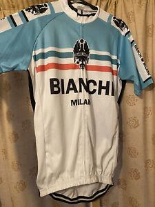 Bianchi Milano Cycling Jersey Short Sleeve