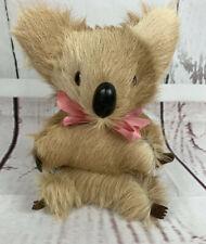 Vtg. Koala Plush Real Fur Calf Fur Made In Germany 8�