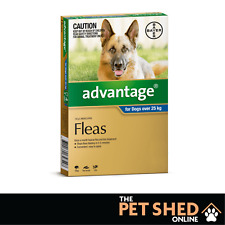 Advantage Blue Flea Treatment for Extra Large Dogs +25kg Spot On ALL DOSES