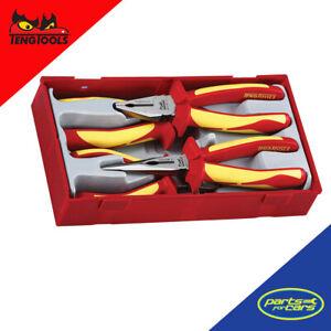 TTV440 - Teng Tools - 1000V 4 Piece Plier Set