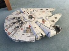 STAR WARS MILLENNIUM FALCON LEGACY COLLECTION 2.5 FEET LONG  INCOMPLETE SEE PICS