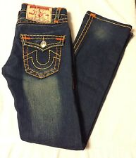 Womens True  Religion Jeans  pants Joey Super T sz 27 good preowned condition
