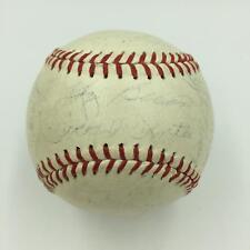 1961 Yankees World Series Champs Team Signed Baseball Mantle Roger Maris JSA COA