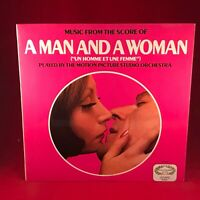 FRANCIS LAI A Man And A Woman 1968 UK VINYL LP EXCELLENT CONDITION soundtrack