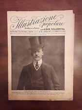 R34> L'illustrazione Popolare n.35 anno 1912 L'uomo politico del giorno