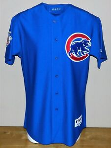 2009 Neal Cotts (Set 1) Game Worn Chicago Cubs ALT Jersey #48 - Size 46