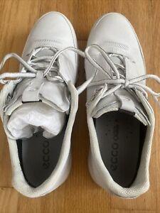 ECCO Women's Multi-Vent GORE-TEX White Leather Waterproof Shoes 41 EU 10-10.5 US