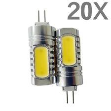 20 G4 Base 7.5W DC 12V LED Warm White Light Bi Pin COB Non Dimmable Bulb Lamp