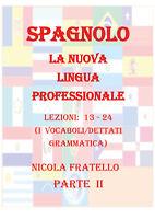 La Nuova Lingua Professionale Spagnolo - Parte II -Nicola Fratello - P
