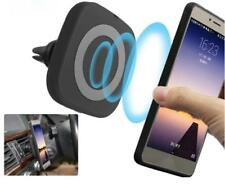 Magnetic Wireless Charger For iPhone Samsung Car Air Vent Charging Pad Standard