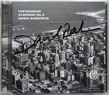 Daniel Barenboim firmato Furtwängler Symphony No. 2 2cd Chicago così FURTWANGLER