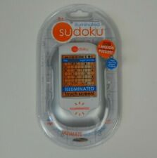 Sudoku Illuminated Touch Screen Techno Source 2005 Travel Game 20700