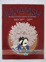 JULYAMSH 2012 Northwest Powwow Souvenir Guide Idaho Indian Native American Coeur