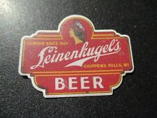LEINENKUGELS Leine Classic Die Cut Logo STICKER decal craft beer brewery brewery
