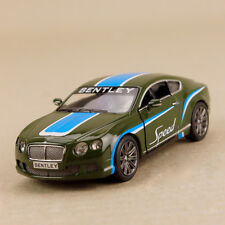 2012 Bentley CONTINENTAL GT Speed Blue Red Stripe 1 38 Scale 12cm Die Cast Opens