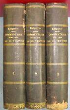 Commentaire sur la loi du 25 ventose an XI, Albert Amiaud, 3 tomes