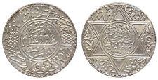 MOROCCO - MAROC Hassan I, 10 DIRHAMS 1299 H (1881) Paris