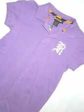 Ralph Lauren Rugby women's lilac short sleeve polo Shirt size SMALL