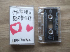 MARCELLA DETROIT - I HATE YOU NOW - Tape Cassette SINGLE - 1996