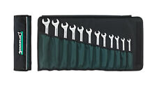 Stahlwille 17/12 Combination Ratcheting Spanner Set in Wallet Metric 12-Piece 8-