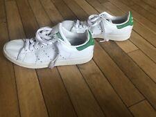 Adidas Women's Stan Smith Sneakers White/Green Size 7