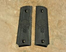 1911 grips black full size PUNISHER SKULL,government/commander size .45/38 SUPER