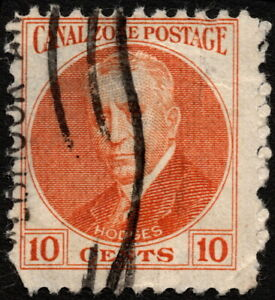 Canal Zone - 1928 - 10 Cents Orange Major General Harry Foote Hodges Issue # 108