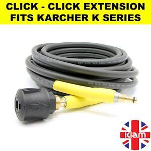 20m Karcher K Series Pressure Washer Hose Extension Click Click K2 K3 K4 K5 K7