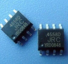 10 PCS New NJM4558D JRC4558D 4558D SOP8  ic chip