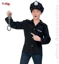 Fasching Karneval Jacke Police Polizeijacke Polizei Kostüm Gr. 152 NEU