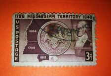 1798 Mississippi Territory Stamp 3¢ 1948