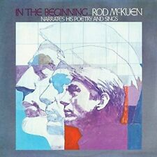 Rod McKuen ~ In The Beginning NEW SEALED CD Narrates His Poetry And Sings #