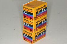 Lot of 3 Kodak Kodacolor VR-G 100, 36, Display Back removed, Exp. 1989 or prior