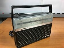 Panasonic RF-546D AM/FM Portable Radio. Works Great With 2 Months Warranty.