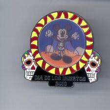 Disney Dia de los Muertos Mickey Mouse Ghost Day of the Dead Lenticular LE Pin