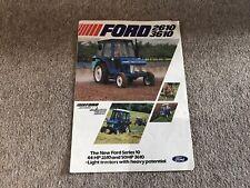FORD Tractor 2610 3610 Leaflet Sales Brochure
